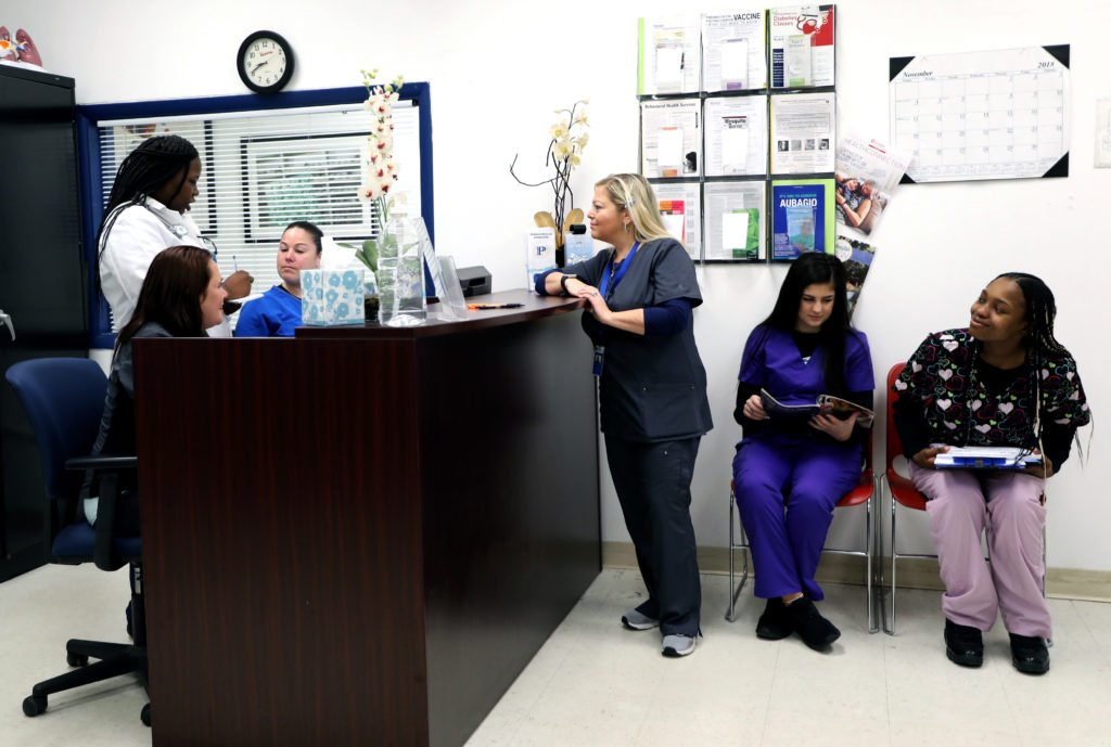 Students in Pennco Tech's Medical Assistant - Administrative program